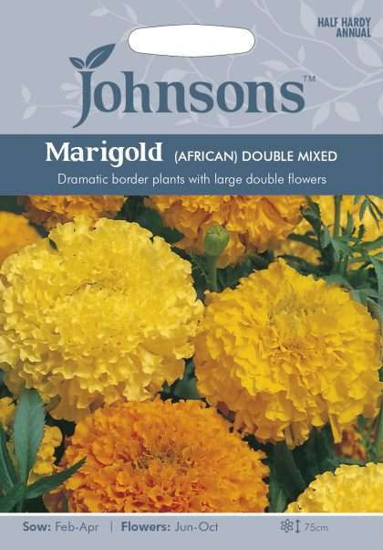 Marigold African Double Mixed